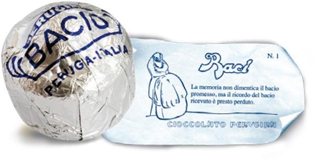 意大利国宝级巧克力bacio