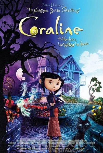 意大利语电影:鬼妈妈Coraline e la porta magica 中意双语 附网盘下载